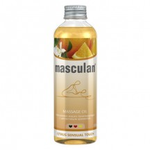 Массажное масло Masculan тонизирующее с цитрусовым ароматом 200 мл
