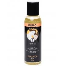 Возбуждающее массажное масло Shunga Stimulation с ароматом персика 60 мл