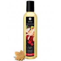 Возбуждающее съедобное массажное масло Shunga Organica кленовый восторг 250 мл