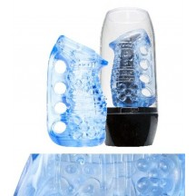 Мастурбатор Fleshlight Fleshskins Grip Blue Ice
