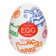 Мастурбатор яйцо Tenga Keith Haring Street
