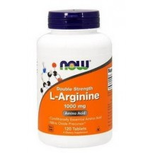 Бад для мужчин Now L-Arginine 1000 мг 120 таблеток