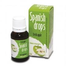 Капли Spanish Drops Fresh Apple для двоих со вкусом яблок 15 мл