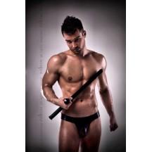 Сексуальные мужские трусы джоки черного цвета L/XL