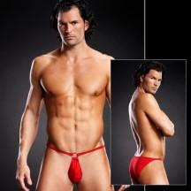 Сексуальные мужские pouch-бикини red L/XL