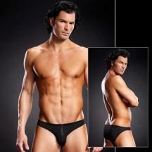Черные мужские бикини с молнией L/XL