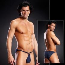 Сексуальные синие мужские pouch-бикини S/M