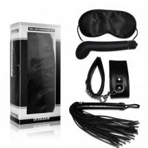 Набор Deluxe Bondage Kit (маска наручники плеть G-вибратор)
