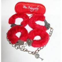 Бондажный набор 3 предмета красного цвета