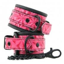 Дизайнерские розовые поножи Luxury Fetish