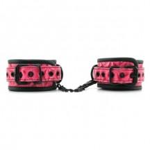 Дизайнерские розовые наручники Luxury Fetish