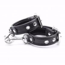 Узкие черные наручники