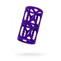 Насадка на член A-toys фиолетовая