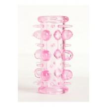 Сквозная насадка розовая