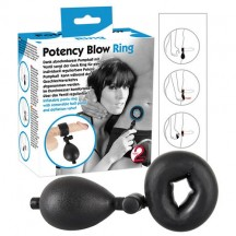 Кольцо для пениса накачивающееся Potency Blow