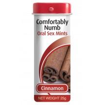 Леденцы для глубокого минета со вкусом корицы Comfortably Numb Oral Sex Mints 25 гр