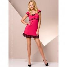 Красная ночная сорочка L