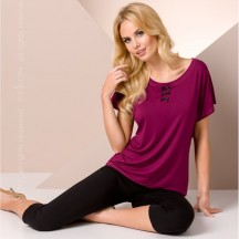 Фиолетовая ночная пижама L