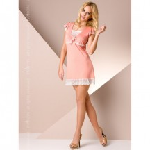 Ночная сорочка персикового цвета XL