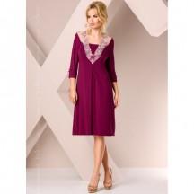 Фиолетовая ночная сорочка L
