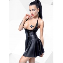 Платье с открытой грудью Jasmin черного цвета размер S