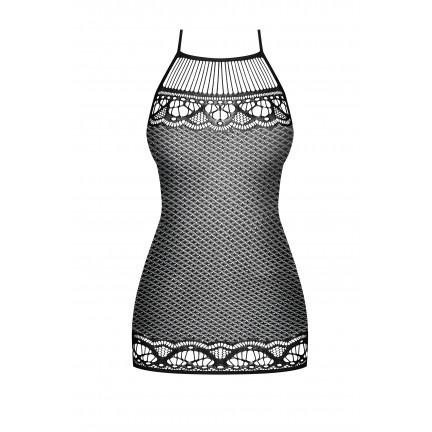 Смелое сексуальное платье-сетка S/L