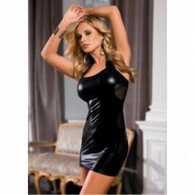 Платье с открытой спиной wetlook OS