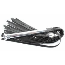 Мягкая плеть с металлической ручкой