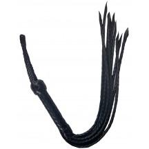 Кожаная плеть ручной работы девятихвостка
