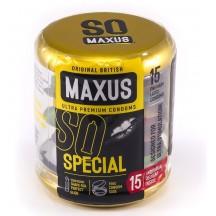 Презервативы Maxus №15 Special точечно-ребристые в металлическом кейсе