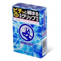 Презервативы с волнистыми зонами Sagami Squeeze 5 шт