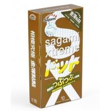 Презервативы усиливающие ощущения Sagami Xtreme Feel Up 10 шт