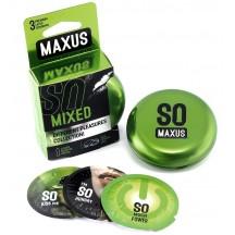 Презервативы Maxus №3 Mixed микс