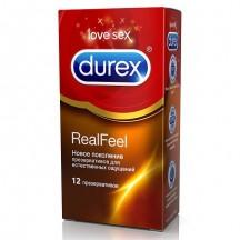 Презервативы Durex №12 Real Feel с эффектом кожа к коже