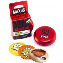 Презервативы Maxus №3 Sensitive ультратонкие