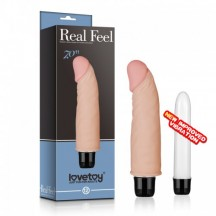 Вибратор Real Feel cyberskin Vibrator 14,5 см