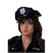 Фуражка полицейского черная