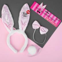 Карнавальный набор Kiss me в комплекте ушки,бабочка и хвостик