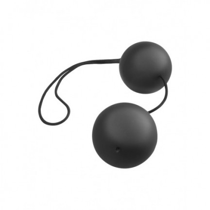 Анальные шарики AFC Vibro Balls Black