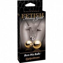 Вагинальные шарики FF Golden Ben-Wa Balls