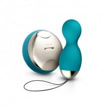Вагинальные шарики Lelo Hula Beads Ocean Blueна дистанционном пульте управления