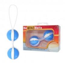 Вагинальные шарики Be Mine Balls голубые