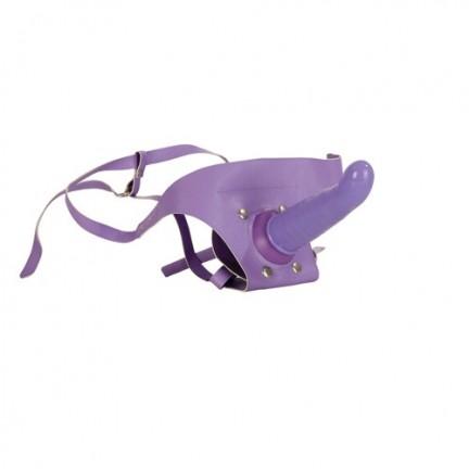 Насадка на фиолетовых трусиках