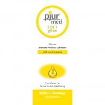 Силиконовый лубрикант с жожоба pjur Med Soft Glide 1,5 мл, пробник