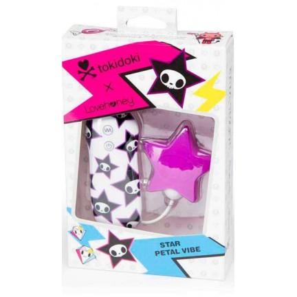 Вибратор клиторальный с 7 функциями Tokidoki Pink Star