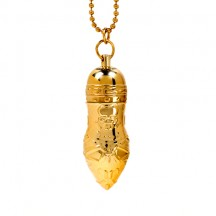 Золотая подвеска на цепочке Gold Pendant