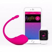 Lovense Lush мощный вибростимулятор с возможностью управления через смартфон