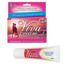 Возбуждающий Крем Viva Cream для женщин 10 мл